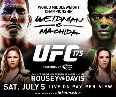 UFC 175: watch episodes 1 and 2 of the Embedded Vlog Series