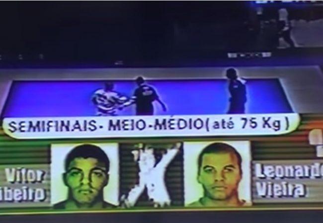 Do baú: relembre Leozinho Vieira x Vitor Shaolin no torneio Rio-São Paulo de Jiu-Jitsu