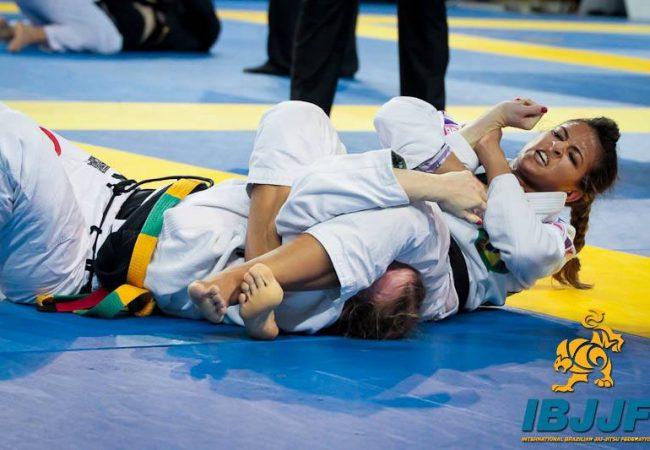Video: Watch 2014 World Champion Beatriz Mesquita's Bulgarian bag fight training