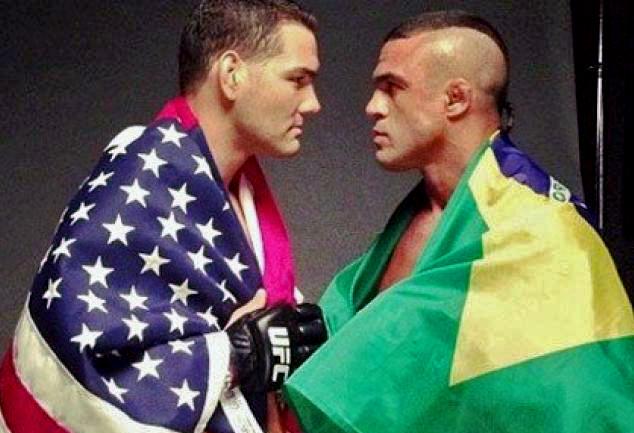 UFC: Vitor Belfort encara Chris Weidman em dezembro, em Las Vegas