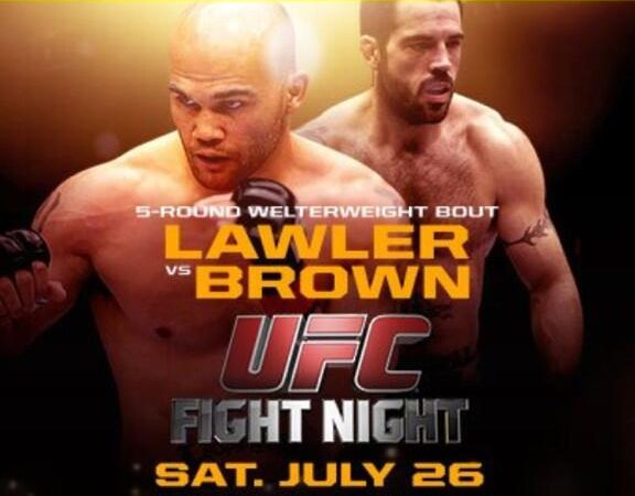 UFC Fight Night – Lawler vs. Brown: watch the official weigh in at 7pm/4pm (ET/PT)