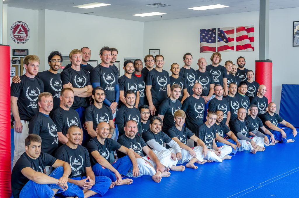 Gracie Barra athletes at the GB Cool Springs In House Tournament. Photo: Personal Archive