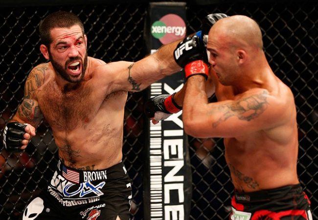 Vídeo: os melhores lances da guerra entre Robbie Lawler e Matt Brown no UFC