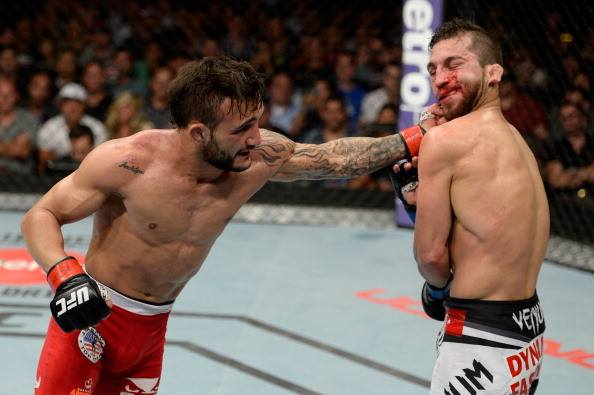 "Vídeo: Reveja as ""pedradas"" de John Lineker no UFC Fight Night"