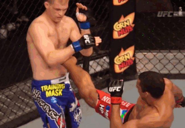 """Vídeo: Reveja o """"nocaute fantasma"""" de Edson Barboza no UFC"""