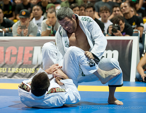 Nino Schembri vs. Bill Cooper at 1st World Jiu-Jitsu Expo in 2012. Photo: John Cooper / GRACIEMAG.com