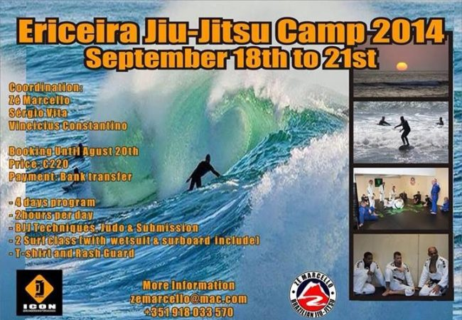 Surf & train at four-day camp in Ericeira, Portugal September 18-21