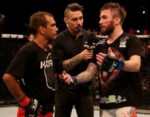Rani faz sua revanche contra Bedford no UFC em Brasília. Foto: UFC