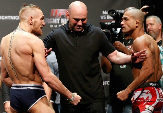 Confira os resultados do UFC: Brandão x McGregor