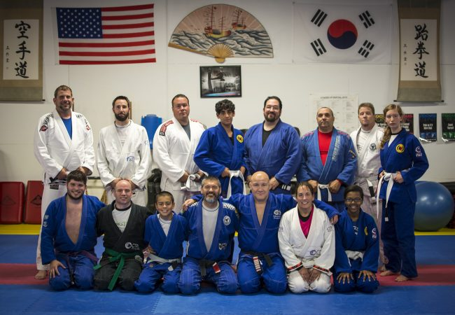 GMA Seamless Progression students gain knowledge from Carlson Gracie Jr.
