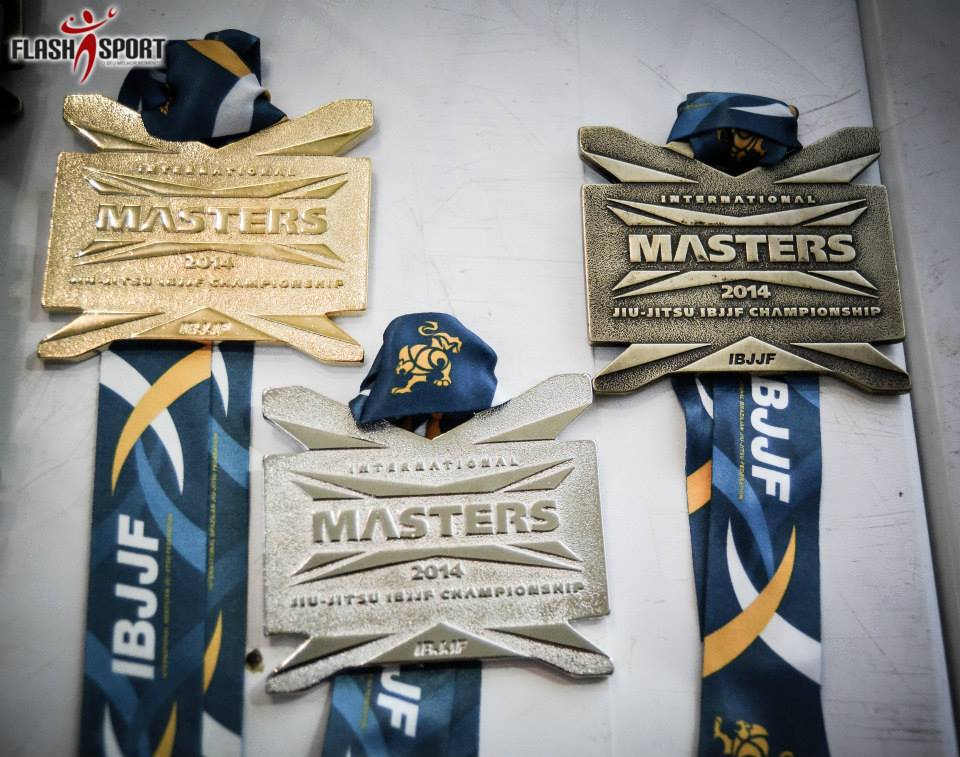 Medals for the 2014 Masters IO. Photo: