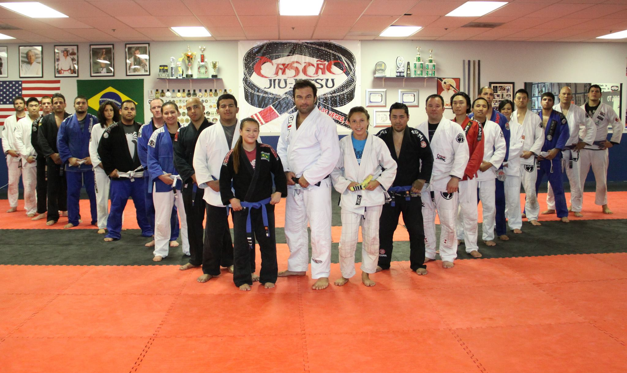 The Cascao Jiu-Jitsu team ready for the Vegas Summer Open. Photo: Personal Archive