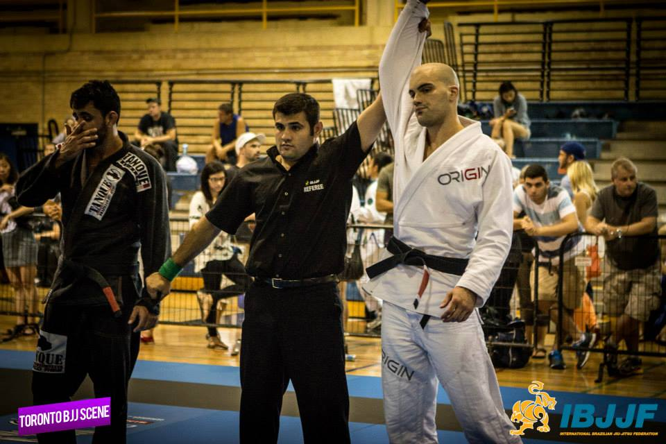 James Puopolo wins double gold. Photo: Martin Nguyen/Toronto BJJ Scene