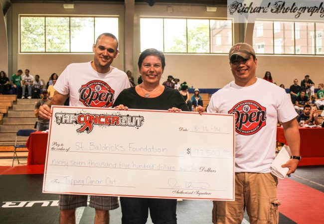 Tap Cancer Out BJJ Open tournament fundraises over $20,000