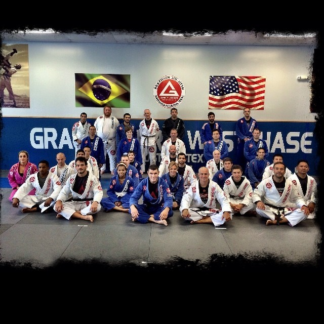 Prof. Marcio Feitosa's seminar at GB Westchase. Photo: personal archive