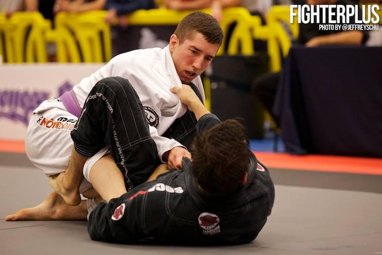 Ryan at the 2014 IBJJF Boston Summer Open. Photo: FighterPlus/Jeffrey Chu