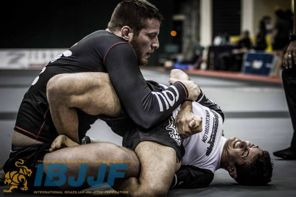 Caio Terra in the no-gi absolute. Photo: Hoong Giang
