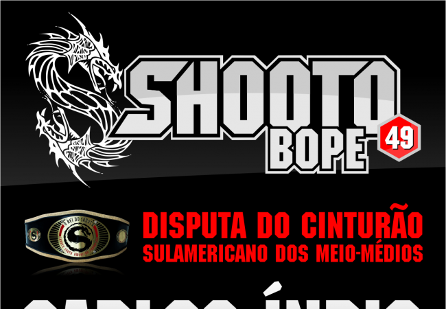 Algoz de José Aldo atua no Shooto Bope, no Tijuca Tênis Clube