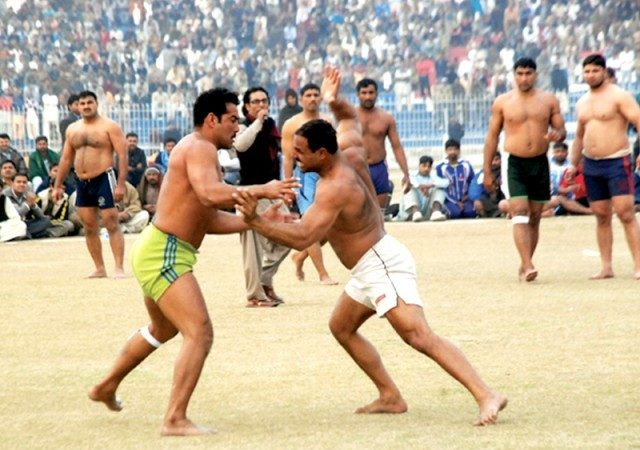 Tough enough? How about a game of Kabaddi?