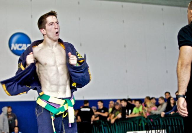 "Full-time engineer/Jiu-Jitsu champion Ryan Clay on competing: ""Having it on the line is a rush"""