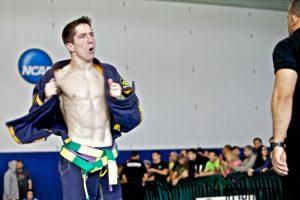 Ryan at the 2013 Abu Dhabi World Pro Trial. Photo: FighterPlus/Jeffrey Chu