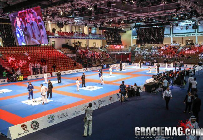Arena de Jiu-Jitsu em Abu Dhabi. Foto: Ivan Trindade/GRACIEMAG