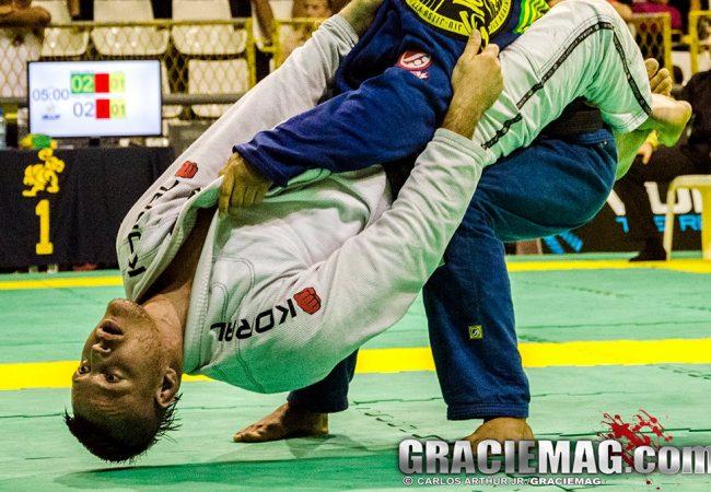 A guerra entre Alan Régis e Manoel Neto na final do Rio Open de Jiu-Jitsu