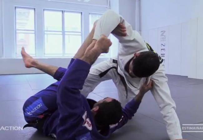 O giro para o leglock de Bráulio Estima no Jiu-Jitsu