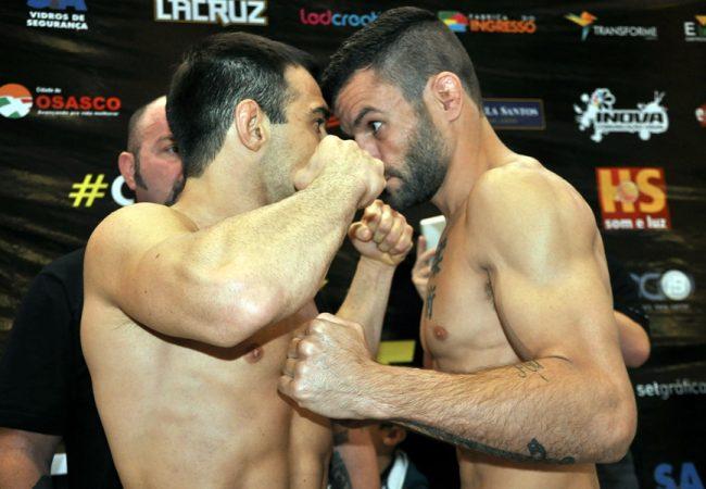 Celsinho Venícius bate o peso e oficializa disputa de cinturão no Talent 10