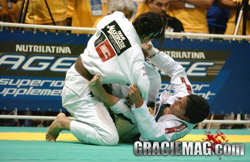 Leka Vieira vs. Kyra Gracie at the 2005 Worlds