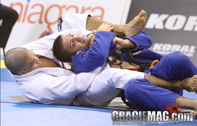 André Galvão em ação no Jiu-Jitsu. Foto: Ivan Trindade/GRACIEMAG