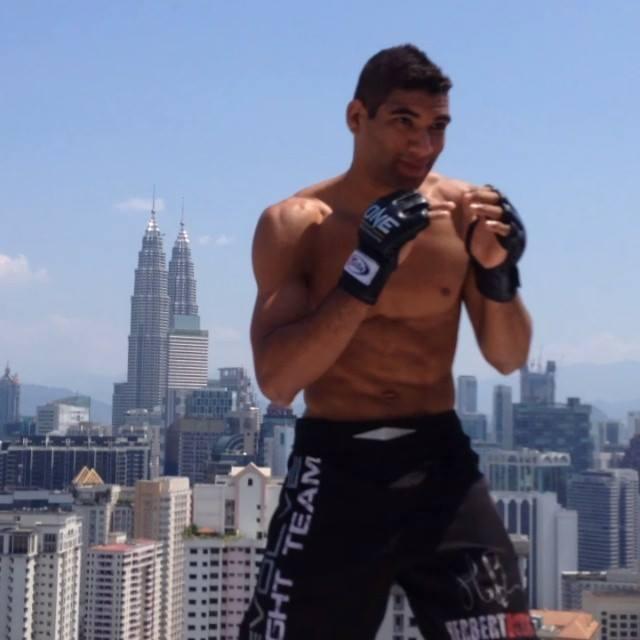 Herbert Burns, campeão de Jiu-Jitsu e MMA. Foto: Arquivo Pessoal