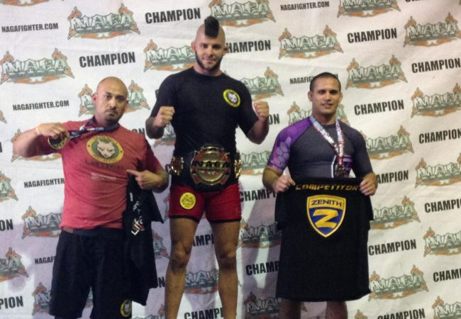 Gracie Humaita brown belt Gabriel Checco conquers Gi and No Gi gold at NAGA