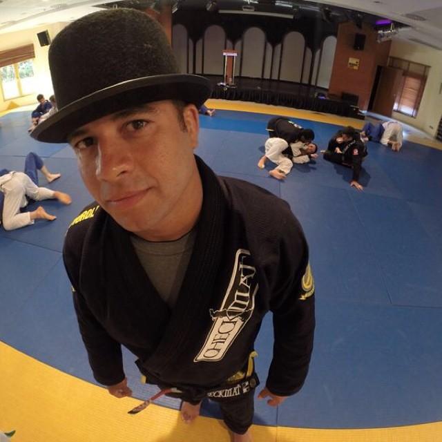 Leonardo Vieira ensina na Jiu Jitsu Expo evento de Renzo