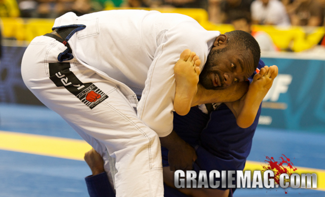 Alan Finfou back on the mats eight weeks after scary injury at the 2014 Worlds