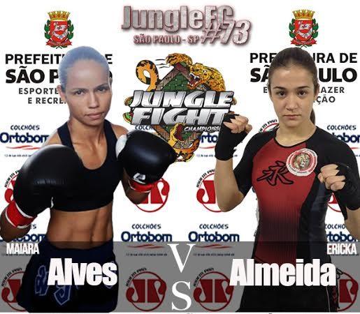 Jungle Fight estreia cinturão peso-palha feminino em edição de aniversário