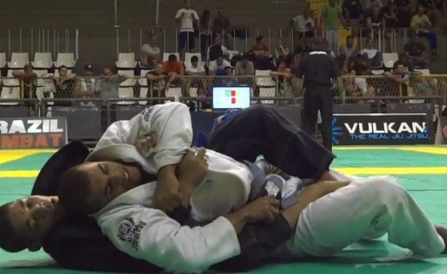 A pegada de costas que valeu o ouro absoluto faixa-azul no Rio Open