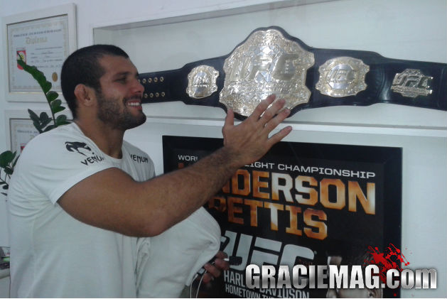 "Rodolfo Vieira predicts MMA debut in 2015: ""One day this will be my belt"""