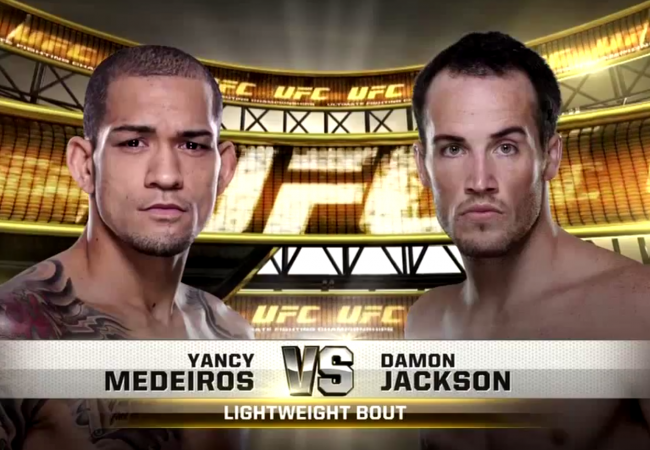 Watch the awkward submission Yancy Medeiros used to win at UFC 177