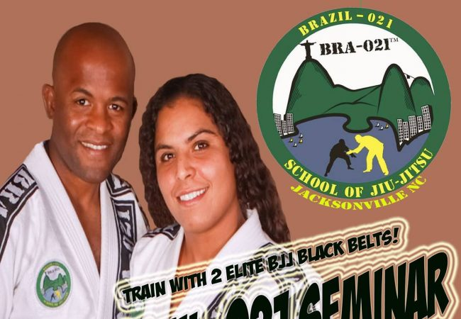 Brazil-021 leaders Andre Terencio & Hannette Staack are in North Carolina on Sept. 20!