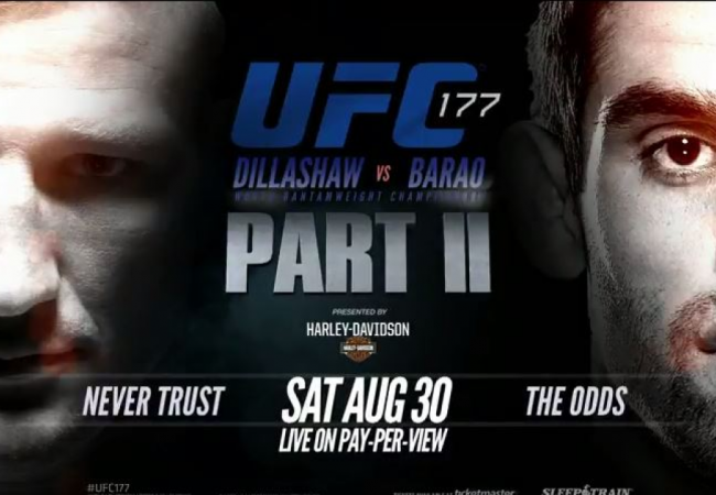 Dillashaw vs. Barão II: get in the zone with two free fights featuring the rivals
