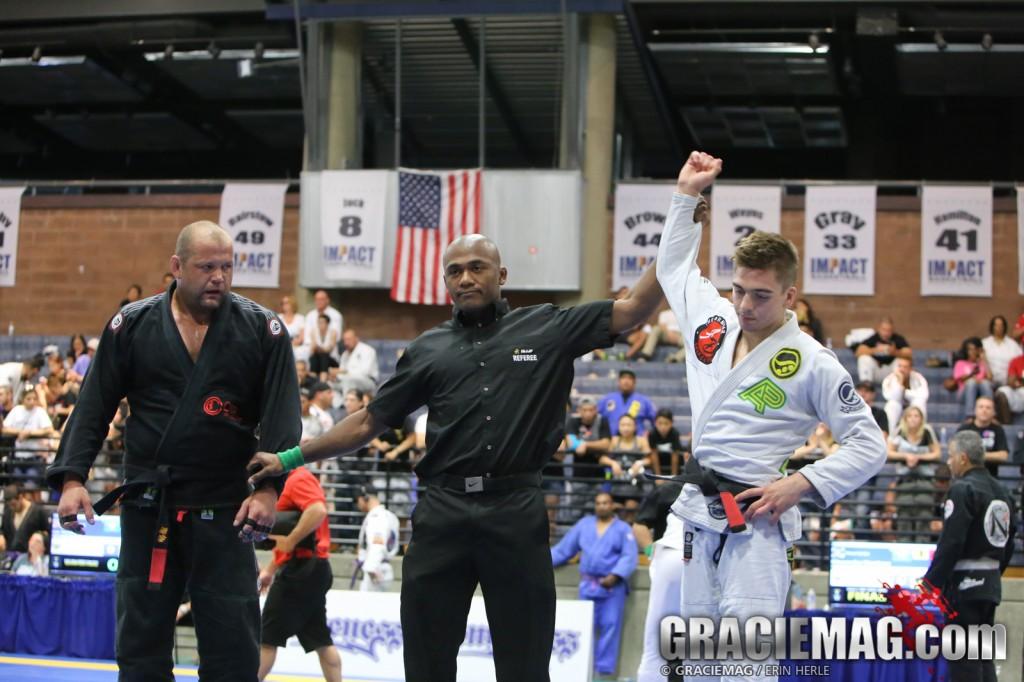 Gianni Grippo reinou no absoluto do Las Vegas Open. Foto: Erin Herle/GRACIEMAG