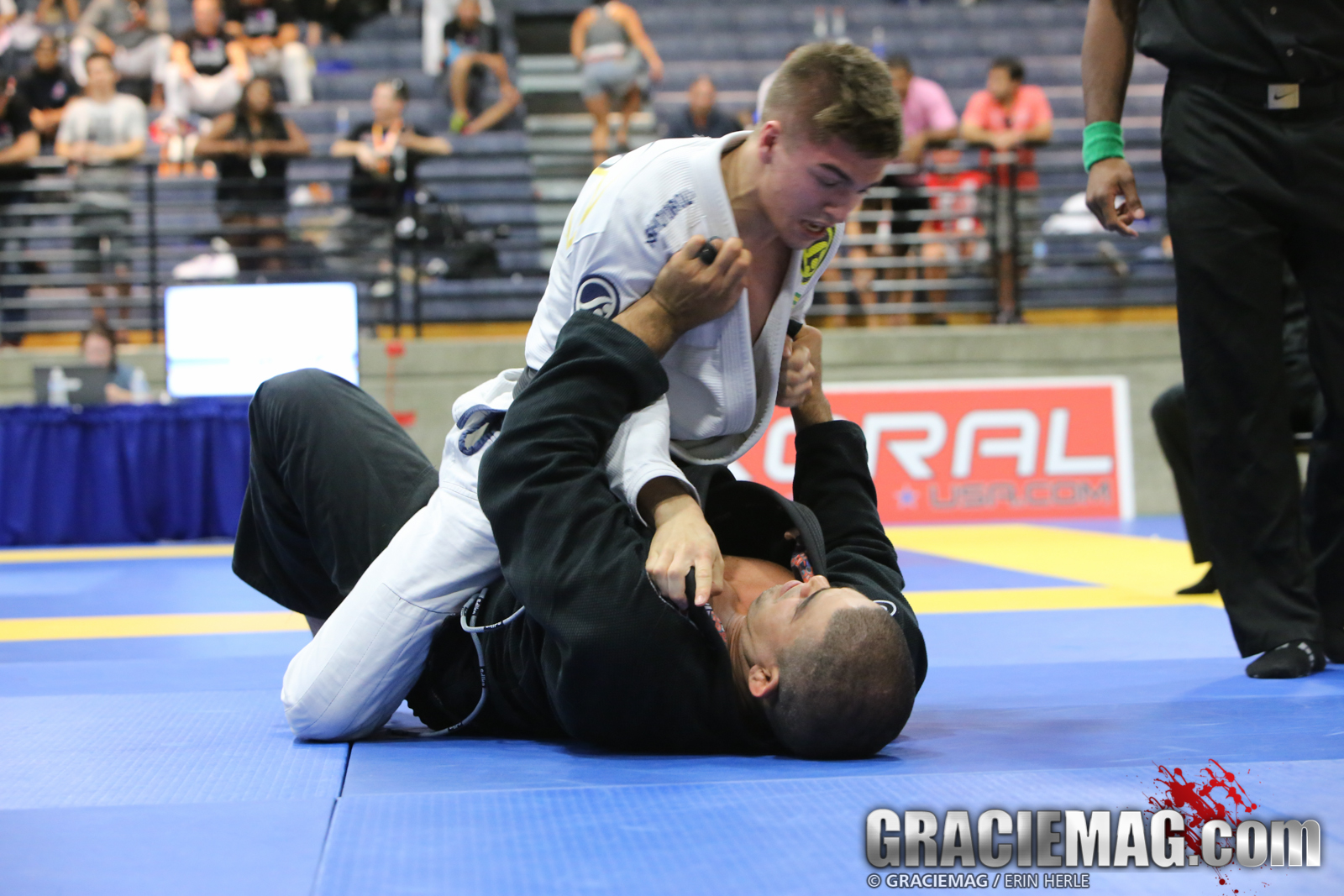 Gianni Grippo wins another IBJJF absolute. Photo: Erin Herle