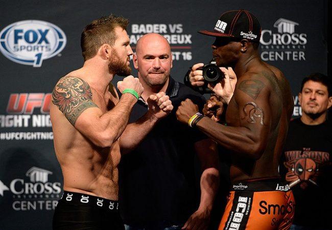 Confira os resultados, em tempo real, do UFC: Bader x St-Preux