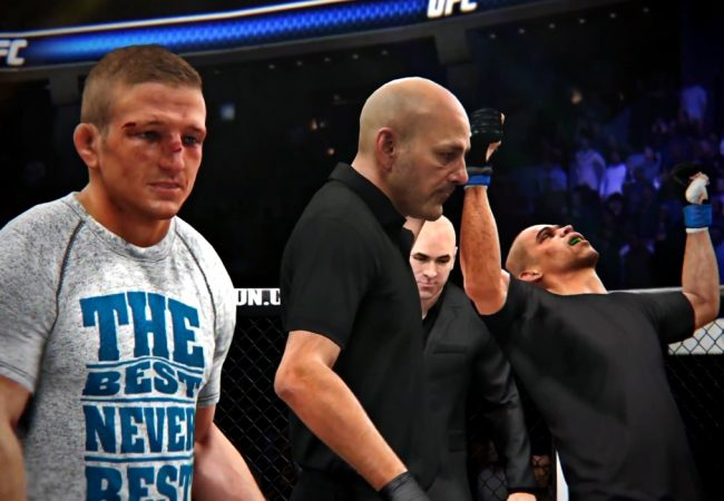 Simulação em video-game dá a vitória para Renan Barão no UFC 177