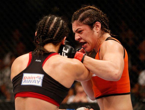UFC 177: Watch Bethe Correa TKO on Shayna Baszler