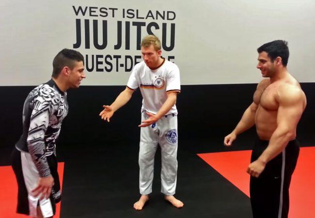 Força bruta x técnica: o desafio entre um halterofilista e um atleta do Jiu-Jitsu