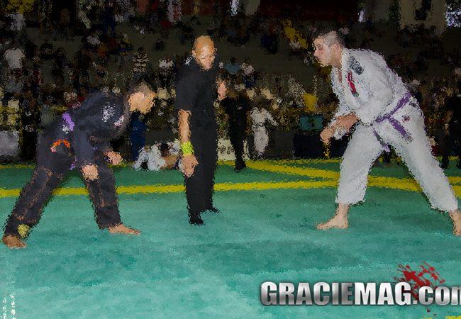 Vídeo: Veja como o levinho do Jiu-Jitsu venceu um grandalhão judoca
