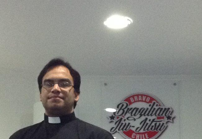 Local priest finds inspiration on the Jiu-Jitsu mats in Chile
