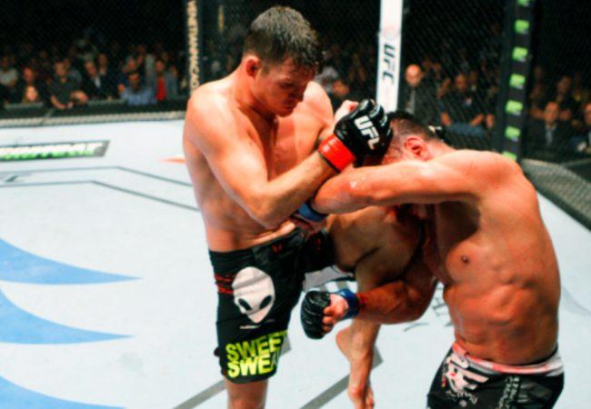 Vídeo: A devastadora sequência de Bisping em Cung Le no UFC Macau